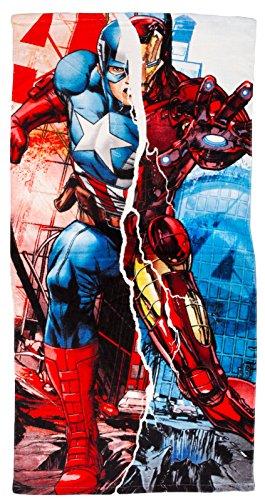 kids-licensing-toalla-los-vengadores-marvel-capitan-america-iron-man-algodon