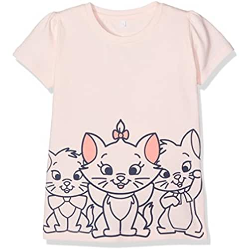 NAME IT Nitmarie Sara Ss Top Mini Wdi, Camiseta para Bebés