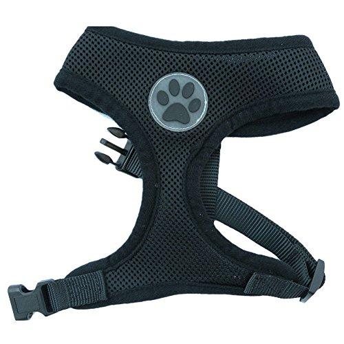 LA-VIE-Pettorina-per-cani-imbracatura-morbida-regolabile-per-cani-di-taglia-piccola-e-media-imbottita-traspirante-taglia-XSSMLXL