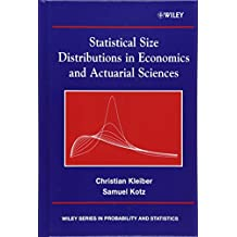 Statistical Size Distributions in Economics and Actuarial Sciences