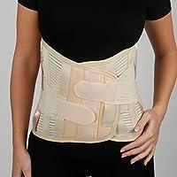 Rückenbandage - Rückenstütze - lumbosakral Rückenbandage - 32 cm Größe - Untere Lendenwirbelstütze Korsett - -... preisvergleich bei billige-tabletten.eu