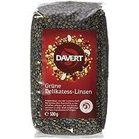 Davert Grüne Delikatess-Linsen, 2er Pack (2 x 500 g) - Bio