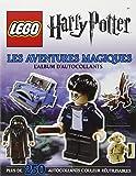 Lego Harry Potter, l'album d'autocollants : Les Aventures magiques...