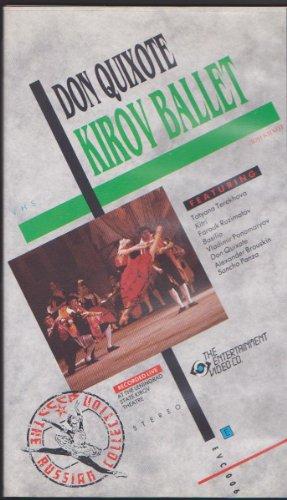 Preisvergleich Produktbild Don Quixote Kirov Ballet - Recorded live at the Leningrad State Kirov Theatre - 1988 (VHS)