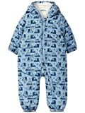 NAME IT Baby Schneeanzug Overall Wagenanzug Suit 13155606 Dusty Blue Gr.62-68