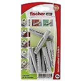 Fischer Universaldübel UX RK SBKarte, 10 Stück, 8 x 50 mm, 77853