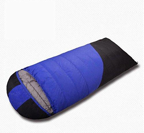 RJ YXX Schlafsack Umschlag Daunenschlafsack Camping Im Freien Fortgeschritten Multifunktion Schlafsack Wasserdicht Winddicht Anti-kalt, Kaschmir Inhalt 1500 Gramm -