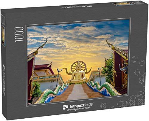Puzzle 1000 Teile Wat Phra Yai KOH Samui Surat Thani Thailand - Klassische Puzzle, 1000 / 200 / 2000 Teile, edle Motiv-Schachtel, Fotopuzzle-Kollektion 'Buddhismus'