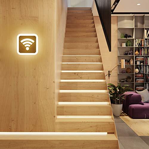 Creative LED lámpara de noche moderna y minimalista habitación de los niños dormitorio...