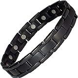 MPS® Polaris Titan magnetische Armband mit Klappschließe + FREI Geschenkbeutel + FREI Werkzeug -, um Links zu entfernen