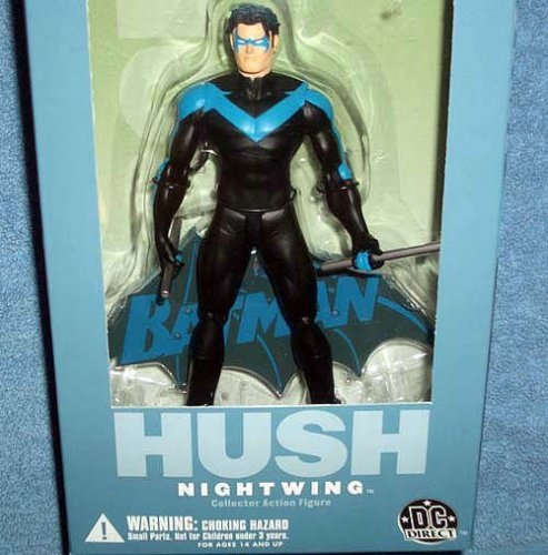 DC Direct Batman Hush Nightwing Collectors Action Figure