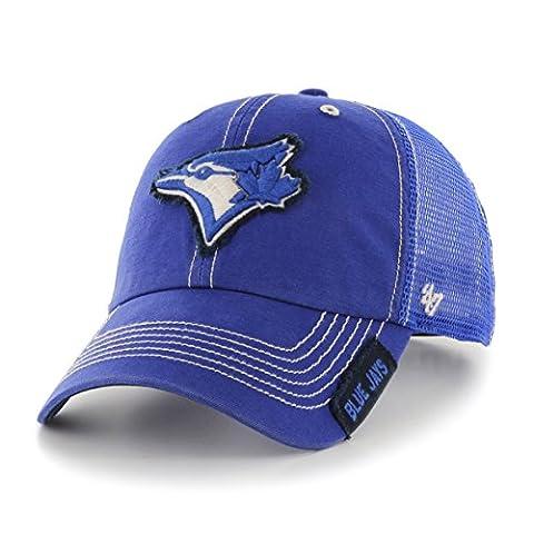 MLB Toronto Blue Jays Turner Clean Up Adjustable Hat, One Size, Royal