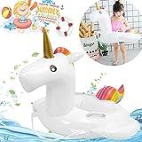 Bouée Licorne, Piscine Bouee Licorne PVC Matériau Gonflable Licorne Flotteur de piscine Fit Géante Pour Piscine Adulte Enfant(70 x 70 x 30 cm)