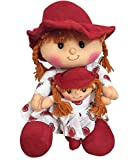 Red Family Doll with Sister