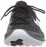 Nike Free 3.0 Flyknit, Damen Laufschuhe, Schwarz (Black/White-Anthracite-Dark Grey), 39 EU -