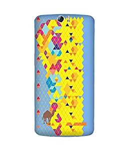 Stripes And Elephant Print-53 Oppo N1 Case