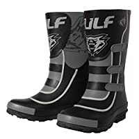 Wulfsport Mud Stomper Junior Wellington Boots (EU 34 / UK 2, Black)