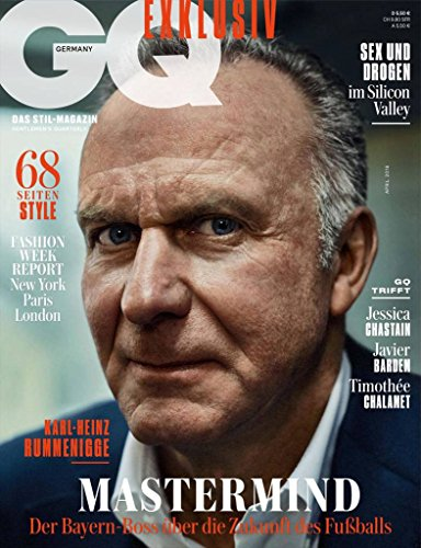 GQ German edition (Männer Fitness Magazin)