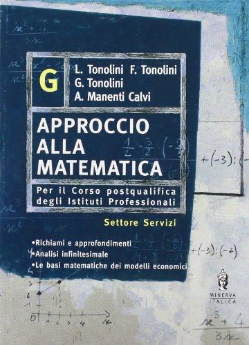 Approccio alla matematica. Vol. G