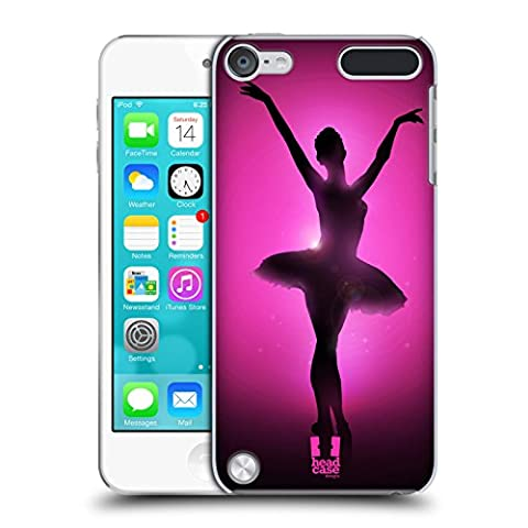 Head Case Designs Graceful Ballerina Silhouette Performers Protective Snap-on Hard Back Case Cover for Apple iPod Touch 5G 5th Gen