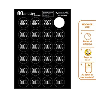 manutips Flexible Magnets for Photos and Crafts: Circular 40mm Di ‡ Metre. (Pack of 24) é