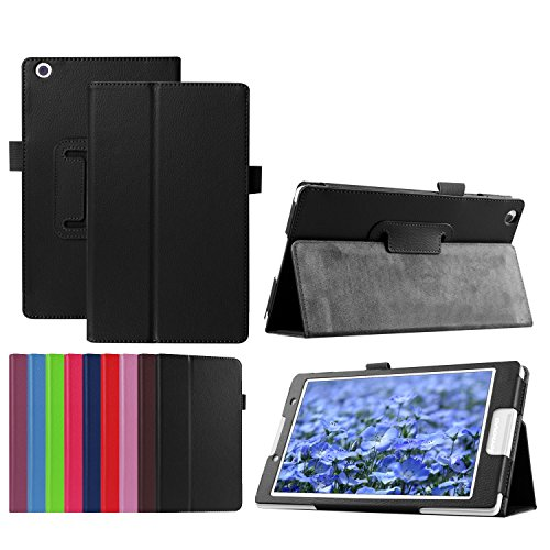 Funluna Lenovo Tab3 8 / Tab 2 A8-50 Hülle Ultra Dünn & Leicht PU Leder Schutzhülle mit Standfunktion für Lenovo Tab 3 8 (TB3-850F / TB3-850M) / Tab 2 A8-50 8,0 Zoll Tablet