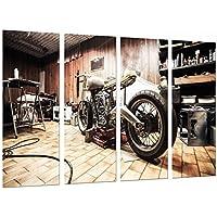 Cuadro Moderno Fotografico Moto