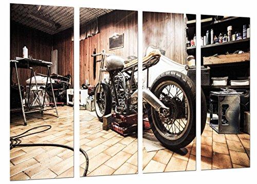 Cuadros Camara Poster Moderno Fotografico Moto Vintage, Moto Harley Davidson, 131 x...