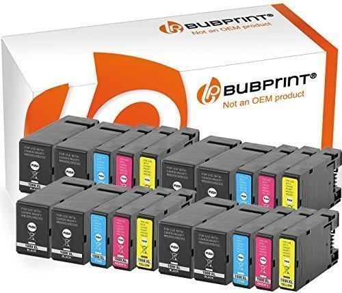 Bubprint 20x Druckerpatronen kompatibel für PGI-1500 XL PGI-1500XL PGI 1500 XL 1500XL Canon Maxify MB2350 MB2050 Multipack