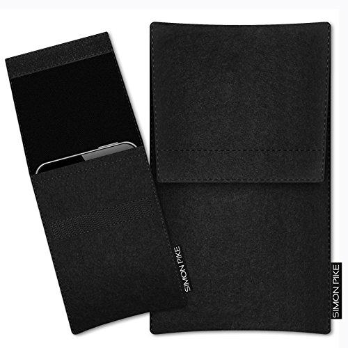 SIMON PIKE Huawei P8 Max Filztasche Sidney 1 in schwarz Filz, maßgefertigt