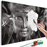 murando - Malen Nach Zahlen Buddha 60x40cm Malset DIY n-A-0569-d-a