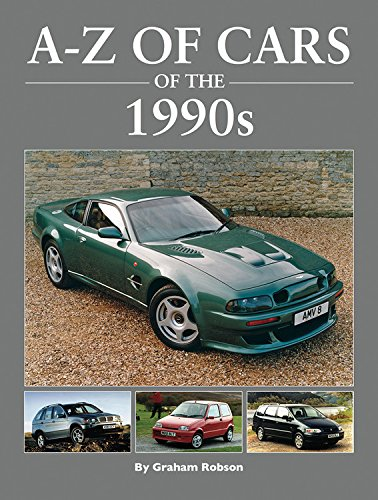 A-Z Cars of the 1990's por Graham Robson