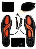 Washable Heated Insoles warm feet Insoles with two levels - UK Size 5