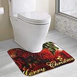 Hoklcvd Toilette personnalisée Tapis Toilette Tapis Douche Tapis Douche Tapis de Douche Tapis de Douche Tapis de Douche