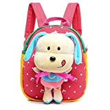 Flyingsky 3D Removable Puppy Doll Kids Backpack Animal - Best Reviews Guide