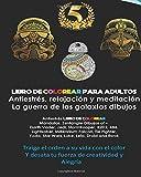 Libro de colorear para adultos: La guerra de las galaxias Mandalas: Libros para Libros para colorear para adultos: Antiestrés, relajación y ... Star Wars, Luke, Leia, Droid, Ewok dibujos