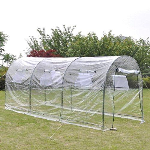 Festnight- serra giardino-orto serra all'aperto con ampia cabina portatile, per piante di giardino