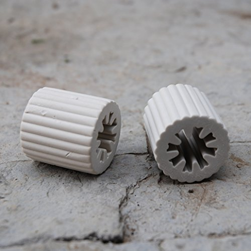 Effektive Mikroorganismen Keramik Pipes 35 mm Set 2 Stück - Em-set