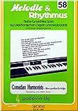 Melodie und Rhythmus 58: Comedian Harmonists - Ihre größten Erfolge - E-Orgel/Keyboard Noten | ©podevin-de [Musiknoten]
