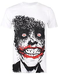DC COMICS Gotham Guardian, Camiseta para Hombre, Blanco, M amazon el-rojo Primavera/Verano