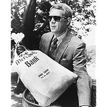 Nostalgia Store L'affaire Thomas Crown avec Steve McQueen Photo 10x 8pour les frais en bleu Persol Lunettes de soleil f4MC1Xi