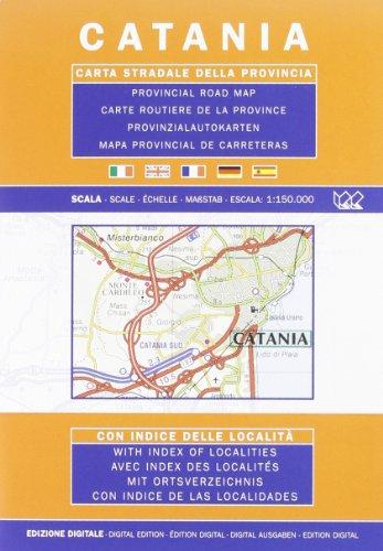 Preisvergleich Produktbild Catania Provincial Road Map (1:150, 000)