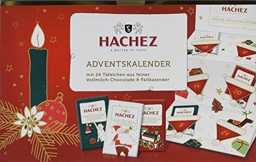 er Feine Vollmilch-Täfelchen, 1er Pack (1 x 180 g) (Schokoladen-adventskalender)