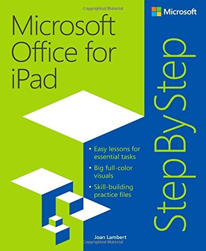 Microsoft Ipad Für Office (Microsoft Office for iPad Step by Step by Joan Lambert (2015-01-29))