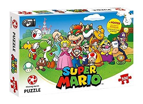 Mario und Freunde, 500Teile Puzzle