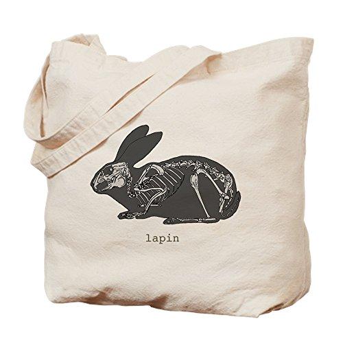Bing A/Ostern Kaninchen Skelett–Leinwand Natur Tasche, Reinigungstuch Einkaufstasche (Stickerei Designs Maschine Ostern)