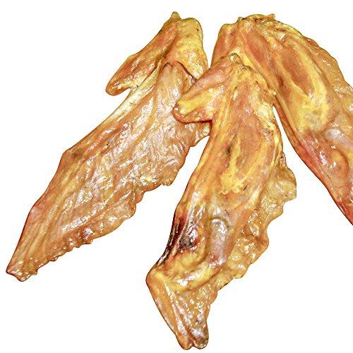 Schecker Dogreform Putenflügel 1 x 250 g Knusprig-braune getrocknete Puten-Flügelspitzen ohne weitere Zutaten Puten Flügel