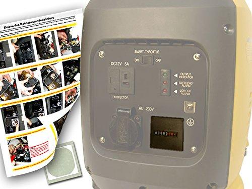 Contaore Per generatore di corrente/Generatori–Digital usato  Spedito ovunque in Italia