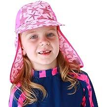 TININNA Pieghevole Estate Outdoor Spiaggia Cappello da Sole con Protezione  UV Protezione Collo Cappello Pescatore per bdddc55a50bd
