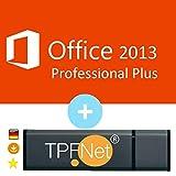 Microsoft® Office Professional 2013 ISO USB. 32 bit & 64 bit - Original Lizenzschlüssel mit bootfähigen USB Stick von - TPFNet®